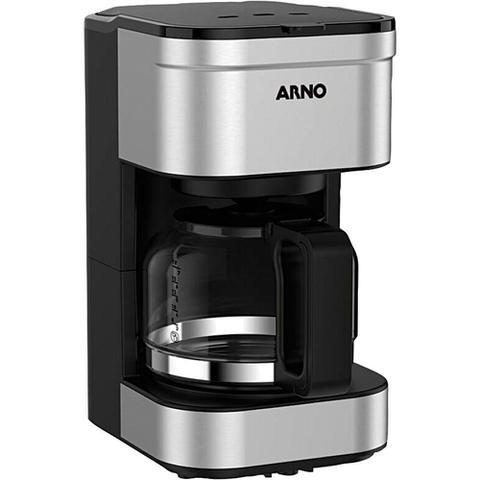 Imagem de Cafeteira Elétrica 20 Xícaras Arno Preferita CFPF com Filtro Permanente Removível Inox 127V