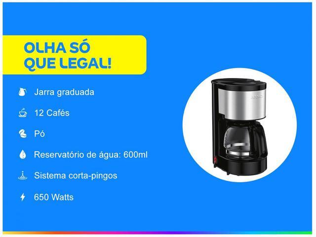 Imagem de Cafeteira Elétrica Arno Perfectta 12 Cafés