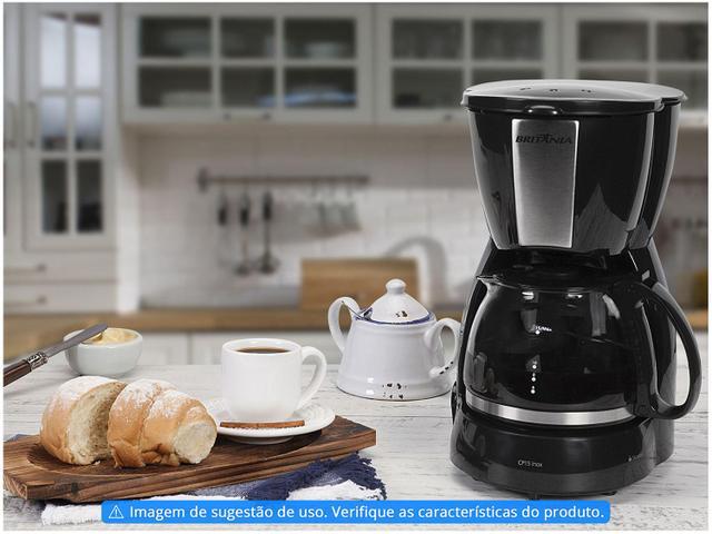 Imagem de Cafeteira Elétrica Britânia CP15 15 Cafés Preto