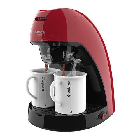 Imagem de Cafeteira Elétrica C/ 2 Xícaras Cadence Single Colors CAF211 Vermelha