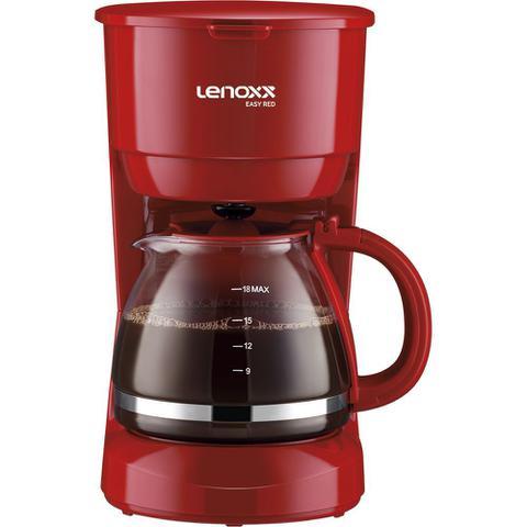 Cafeteira Elétrica Lenoxx Easy Red Vermelho 220v - Pca019