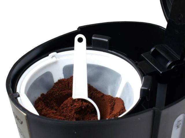 Imagem de Cafeteira Elétrica Mallory Aroma 16 Inox Preta