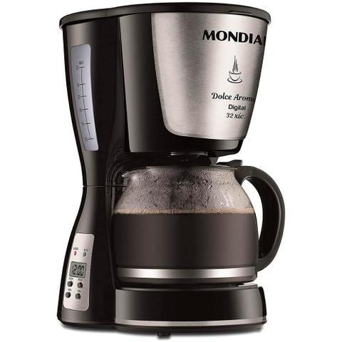 Cafeteira Elétrica Mondial Dolce Arome Digital Preto 110v - C31