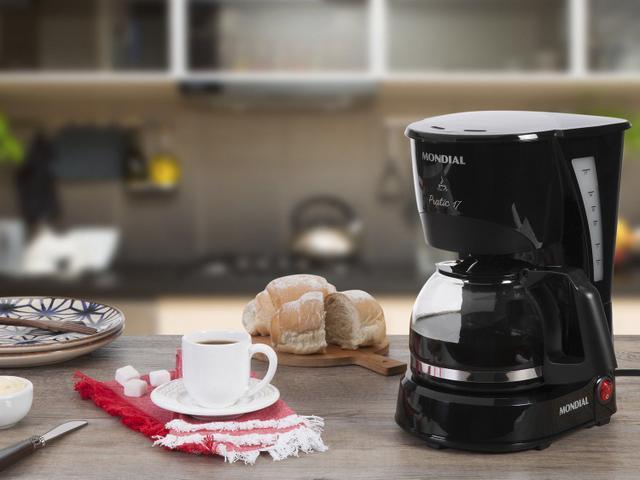 Imagem de Cafeteira Elétrica Mondial Pratic NC-25 Preta