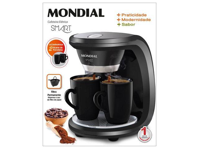 Imagem de Cafeteira Elétrica Mondial Smart C18 2 Xícaras