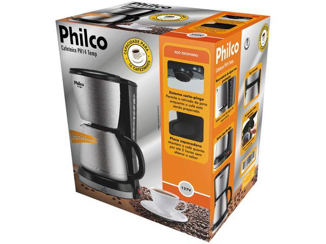Imagem de Cafeteira Elétrica Philco PH14 Temp