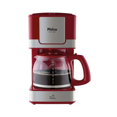 Cafeteira Elétrica Philco Vermelho 220v - Ph31