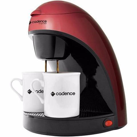Imagem de Cafeteira Elétrica Single Colors Cadence Vermelha 220v + Brinde