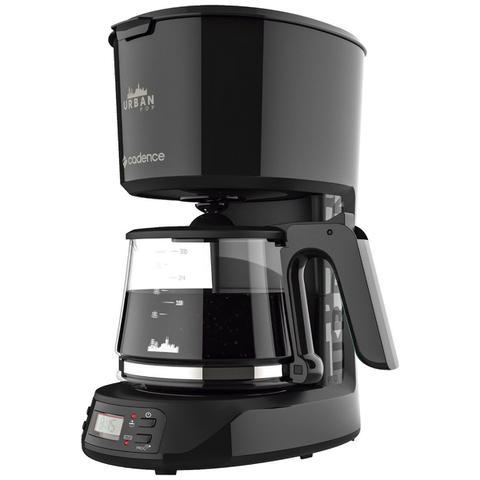 Cafeteira Elétrica Cadence Urban Pop Programável Preto 220v - Caf710