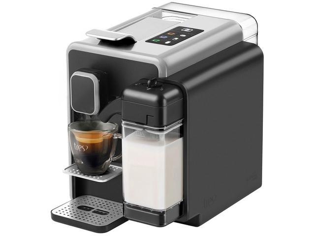 Imagem de Cafeteira Espresso TRES Barista Prata 3 Corações