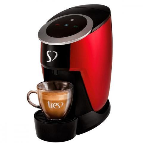 Imagem de Cafeteira Espresso Três Corações Touch Vermelha  220V
