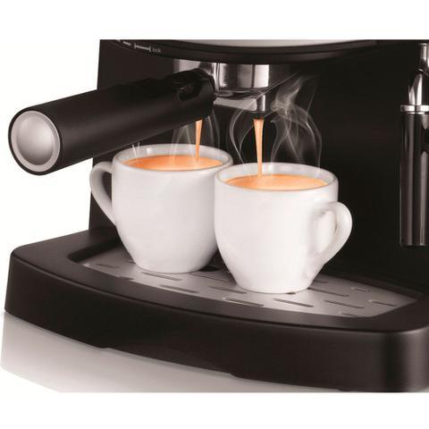 Imagem de Cafeteira expresso 15 Bar preta e prata - Coffee Cream C-08 (110V)