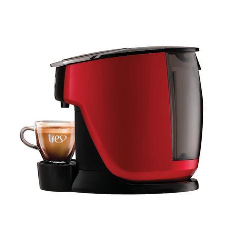 Imagem de Cafeteira Expresso Tres Touch Vermelha 127V