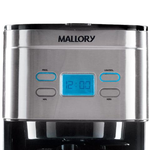 Imagem de Cafeteira Inox Mallory Aroma Digital Thermic