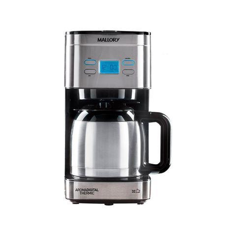 Imagem de Cafeteira Mallory Aroma Digital Thermic 1.2L para até 32 Cafézinhos