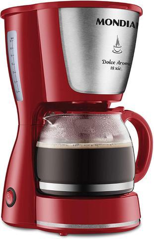 Cafeteira Elétrica Mondial Dolce Arome Vermelho 220v - C35