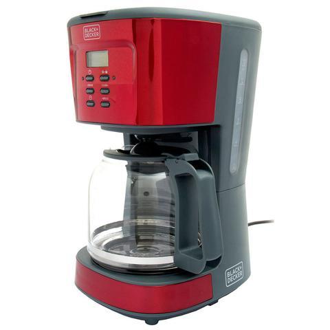 Cafeteira Elétrica Black & Decker Vermelho 220v - Cmp
