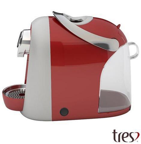 Imagem de Cafeteira Três Corações Modo S04 Vermelha para Café Espresso - 20038905