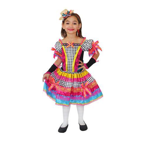 Imagem de Caipira Vestido Candy Infantil