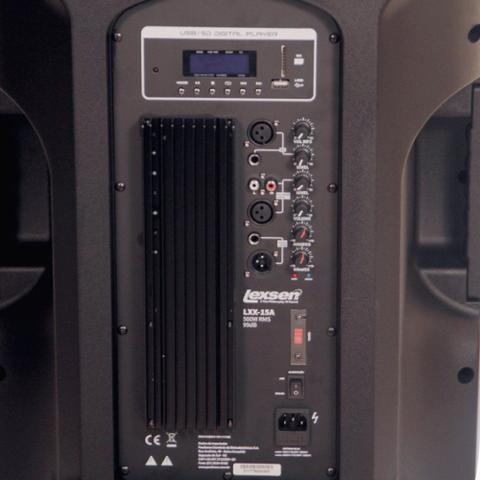 Imagem de Caixa acustica injetada 500W BiVolt -LXX-15A Powerful-Lexsen