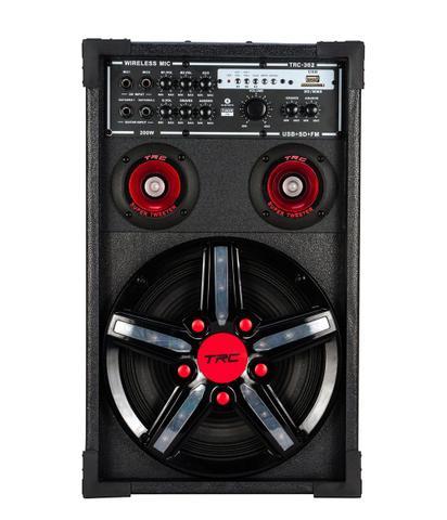 Imagem de Caixa Acústica TRC USB Bluetooth 300W TRC 362