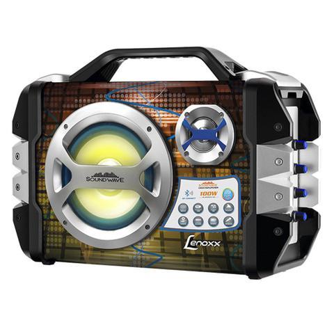 Imagem de Caixa Amplificada Lenoxx, 100W RMS, USB, Cartão SD, Bluetooth - CA325