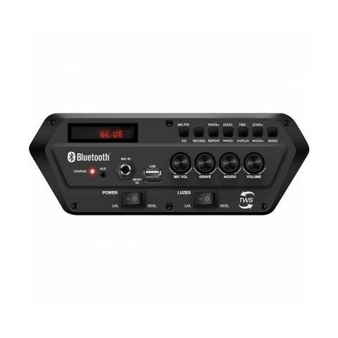 Imagem de Caixa Amplificada Mondial Cm-400 400w Bluetooth Usb Rádio Fm