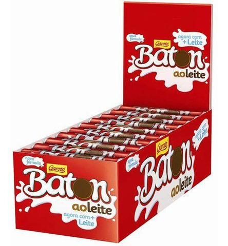 Imagem de Caixa Batom Chocolate Ao Leite Garoto C/30 Unid 16g