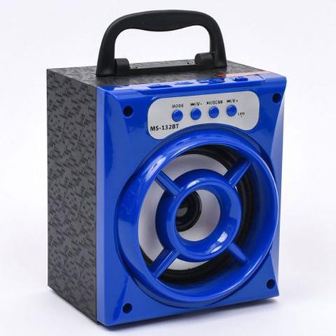 Imagem de Caixa Caixinha Som Portátil Amplificada Via Bluetooth Pendrive Mp3 Usb Sd