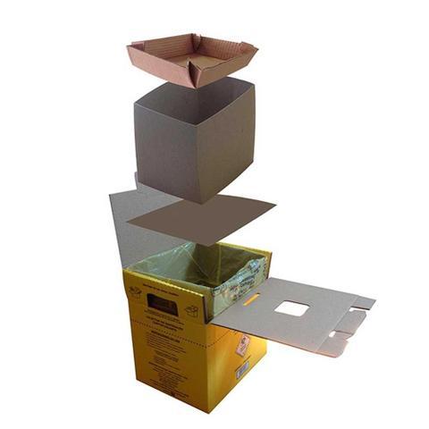 Imagem de Caixa Coletor Materiais Perfuro-Cortante Grandesc 3,0L