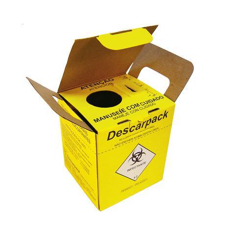 Imagem de Caixa coletora descarpack n3 perfurante / cortante