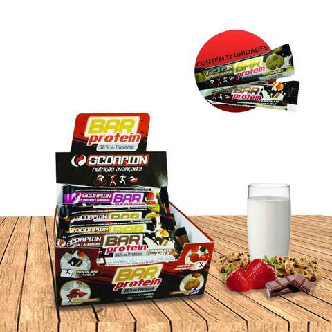 Imagem de Caixa Com Barras de Cereal Edição Especial Protein Nutritiva C/12 Unidades - Sabor Amendoim