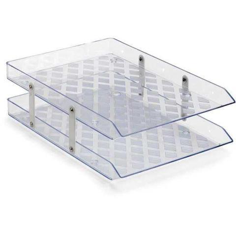 Imagem de Caixa Correspondencia Dupla Fixa Cristal Waleu Unidade