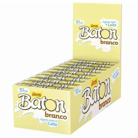 Imagem de Caixa de Baton Chocolate Branco - 480g
