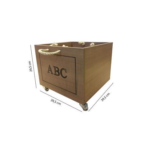 Imagem de Caixa de Brinquedos Casinha Divicar Móveis Peroba