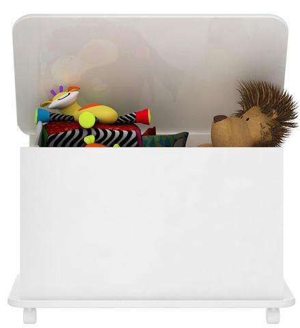 Imagem de Caixa De Brinquedos Ref Bb 710 Branco - Completa Móveis