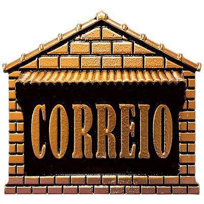 Imagem de Caixa De Correio Correspondência Carta Alumínio Embutir Muro