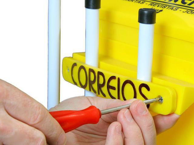 Imagem de Caixa De Correio/correspondência Master Para Grade 36x26cm