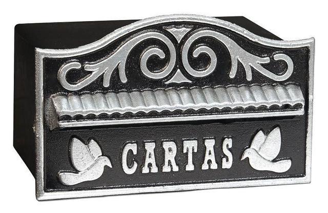 Imagem de Caixa De Correio Correspondência  Para Grade Ou Muro