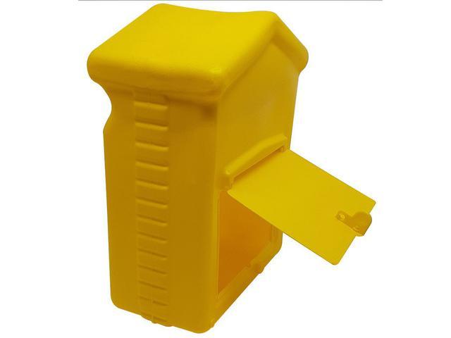 Imagem de Caixa De Correio Correspondência Para Portão e Grades Pvc 25x20x10cm Plástico