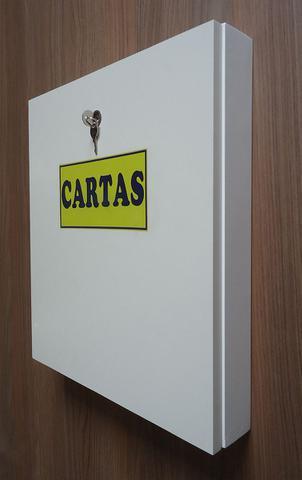 Imagem de Caixa de Correio para Cartas e Correspondências de Parede Condomínios e Residências