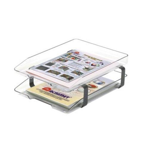 Imagem de Caixa De Correspondência Dupla Acrílica Cristal Acrimet