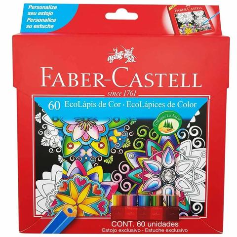 Imagem de Caixa De Lapis De Cor 60 Cores Faber Castell