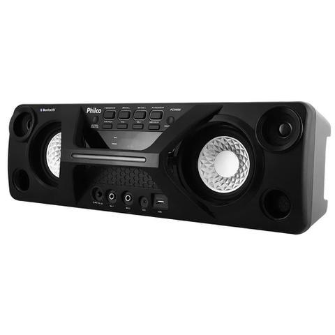 Imagem de Caixa de Som Amplificada Philco PCX4000 130w Bluetooth USB Bateria Interna Com 2 Microfones