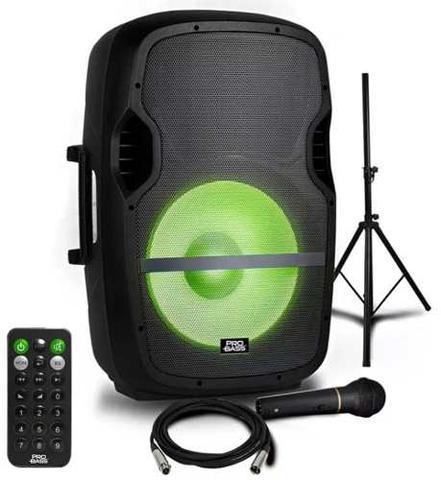 Imagem de Caixa de Som Amplificada Pro Bass Elevate 15