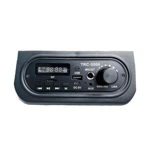 Imagem de Caixa de Som Amplificada TRC 5506 60W Com Bluetooth e Usb