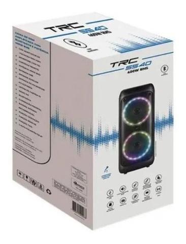 Imagem de Caixa de Som Amplificada TRC 5540 400W Com Bluetooth e Usb