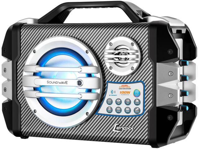 Imagem de Caixa de Som Amplificadora Lenoxx Sound Wave
