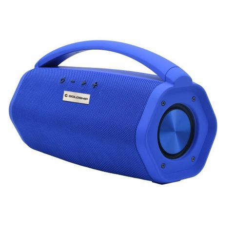 Caixa de Som Goldship Azul Ipx7