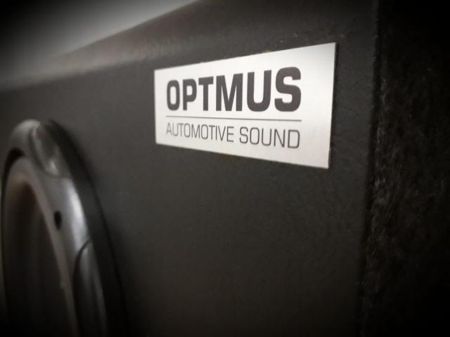Imagem de caixa de som automotiva dutada de 8 polegadas
